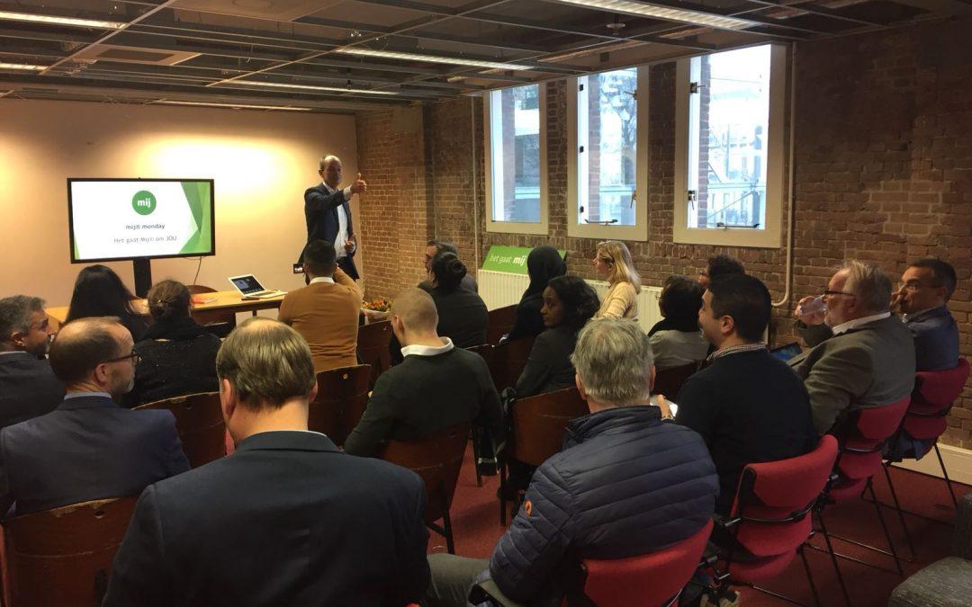 Wervelende start nieuwe serie inspirerende sessies Stichting Mij®